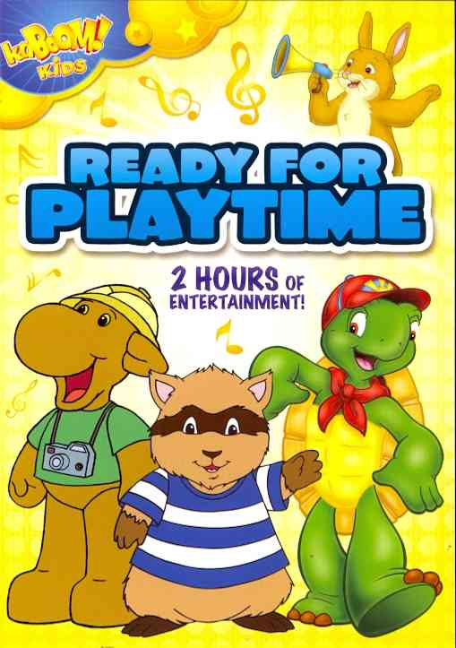 KABOOM KIDS:READY FOR PLAYTIME (DVD)