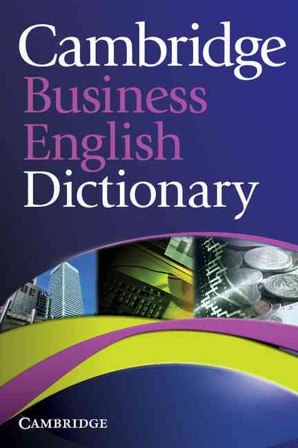 Cambridge Business English Dictionary By Cambridge University Press (COR)